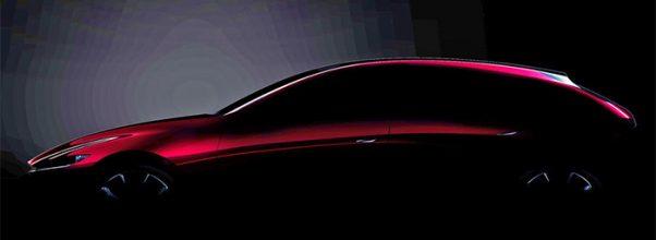 2021 Mazda 3 spy shot
