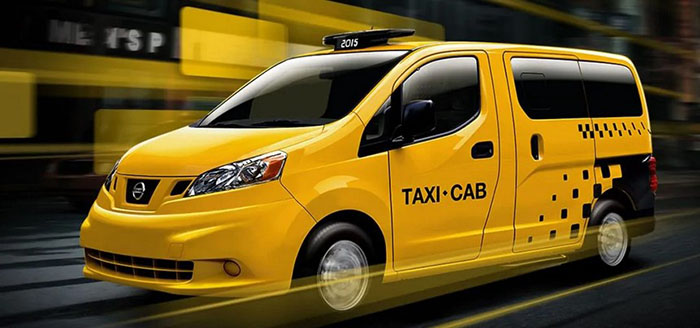 New Nissan NV200 Taxi