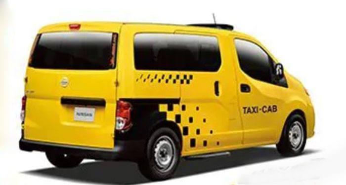 New 2021 Nissan NV200 Taxi