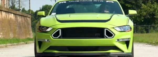 2021 Ford Mustang RTR front